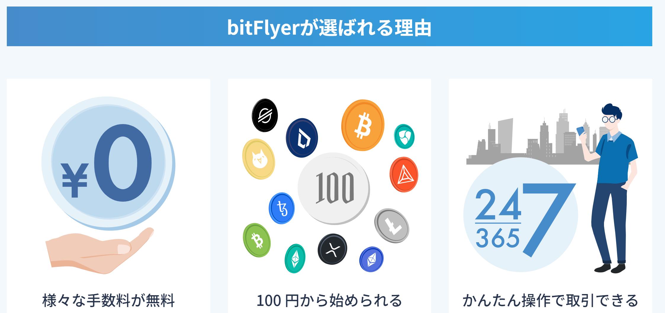 bitFlyerの評判・口コミ&おすすめ評価ポイント