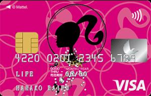 Barbie カードの券面画像