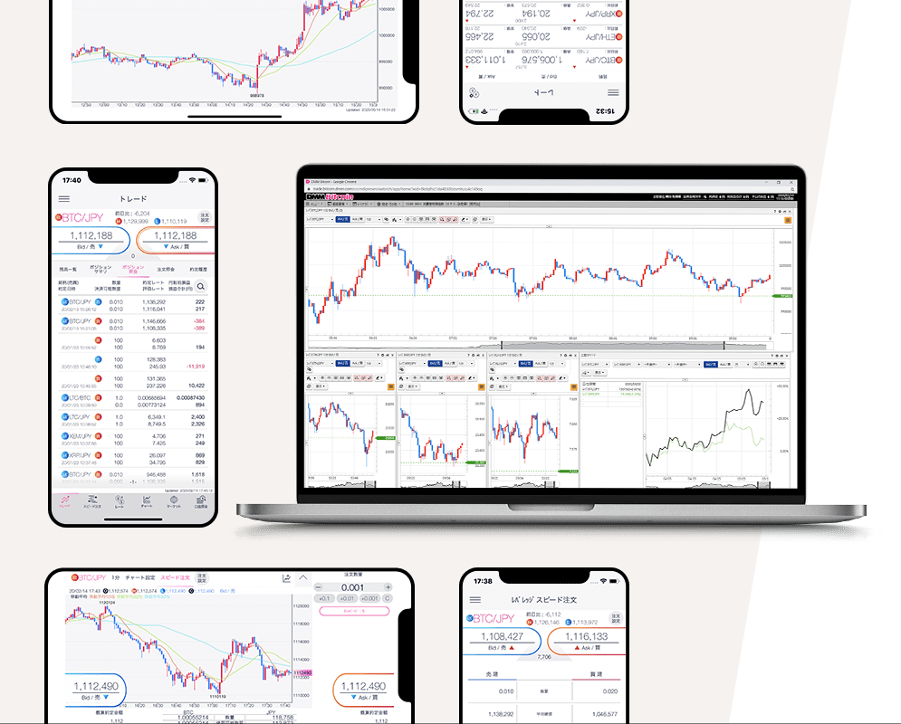 DMM Bitcoinの分析ツールとレポートで仮想通貨取引を有利に!