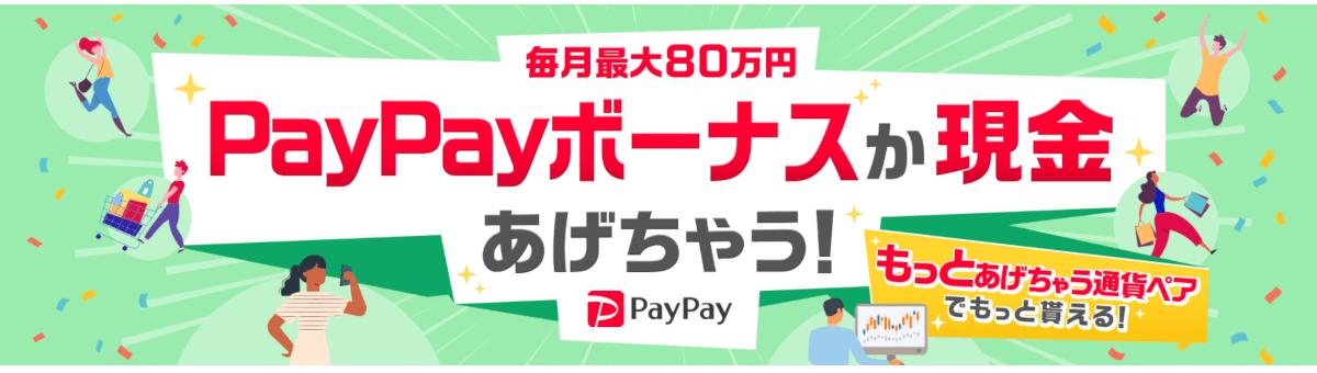 YJFX!:PAYPAYか現金あげちゃう